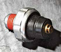 If you have an oil-pressure light, you need this sender, which is a simple on/off switch to ground. When there's no oil pressure, the sender is closed, making the ground, and you see a light. When there is oil pressure, the connection to ground is open and you see no light.
