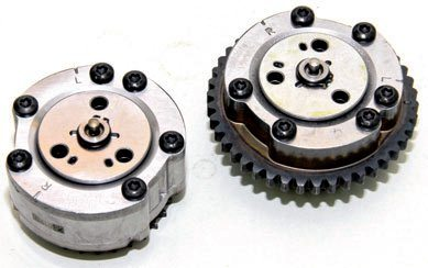 Ti-VCT adjustable cam sprockets advance and retard valve timing as necessary. These actuators get help from cam momentum and valvespring pressure, which enables the cams to return to the normal position when oil pressure is terminated by the PCM signal.