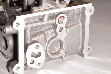 The SOHC head is omni-directional, which means it can be installed on either bank. However, you need to switch oil galley plugs whenever you use heads on opposite sides. This is an easy mistake to make and is not correctable once the engine has been completely assembled. Oil galley plugs installed in the wrong end of the head cut off oil supply where it is needed the most and causes an incredible oil leak where it's needed the least. In short, you will have oil all over the garage floor when you fire the engine and the clatter of engine damage from zero oil pressure.