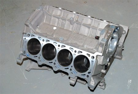 The 2001–up WAP block was Ford's first in-house DOHC block. Some believe this block is as strong as, or stronger than, the Teksid block. This block is popular with racers, and it's also an excellent street block because of its lower price.