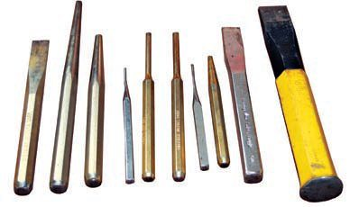 You will find many uses for a good set of drifts, punches, and chisels on your rebuild project. Remember to use these types of tools as designed and do not to force parts. Craftsman makes drifts, punches, and chisels in various sizes and lengths that are adaptable to many tasks.