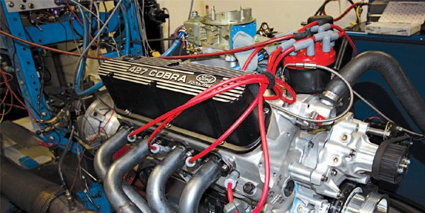 A universe of V-8 engines is available to power your Cobra kit car. While many fine small-block and big-block V-8s are available from other manufacturers, many Cobra owners select a traditional Ford V-8 to power their replica. I selected a Dart 351-based Windsor block that was stroked to 427 inches of displacement, and it produces 425 hp.
