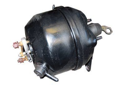 With limited underhood space this style of brake booster is one solution. It's longer and narrower than the standard unit so it may fit where the latter can't. Unless you have a very aggressive cam with low vacuum this may be a practical choice.