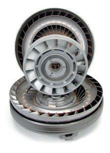 """A TCI high-performance aftermarket torque converter features internal parts that have been furnace brazed for greater strength. Other reinforcements usually include the replacement of the thrust washers (for example, between the stator and the impeller) with heavy-duty needle bearings, the replacement of many components with new parts made from higher-strength steel, and the use of extra material (an """"anti-ballooning"""" plate, for example) in critical areas to prevent flexing under high-stress conditions. (Photo Courtesy TCI)"""