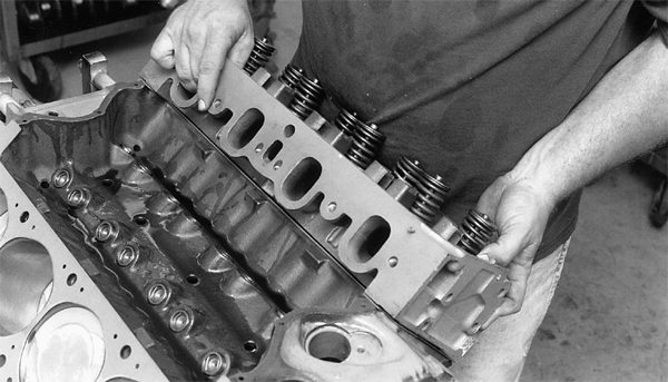 The 351 Cleveland has huge ports. Yet, the factory displacement never takes advantage of the size. When we huff displacement through these extra-large ports, we get raw power. This is exactly what the 351C is famous for when we spin it to 7,000 rpm. A stroker kit enables us to get the same amount of power at lower revs.