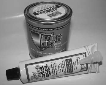 Here's the rust-preventative POR Patch seam sealer and POR-15 paint. POR-15 Inc. offers a full line of rust preventative paint, primers, cleaners, sealers, and fillers. The products are so good that world-famousamusementparksusethem.
