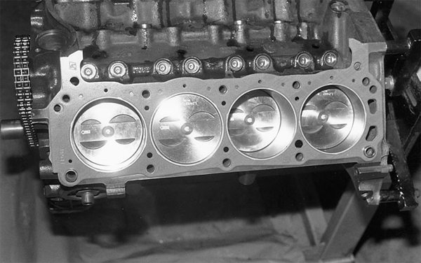 If we opt for a custom crankshaft with even greater stroke, we can achieve 3.50- inches of stroke, which balloons our 302 into 355ci.