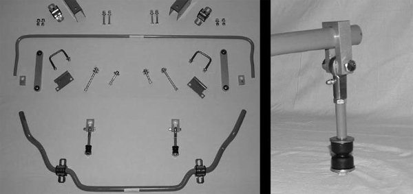 Since 1975 Stam-Bar Stabilizers has been making sway bars for '65 through '73 Mustangs. These sway bars incorporate sliding end links that allow the bars to be fully adjustable for the ultimate suspension tuning. You can adjust the bar when you get to the track and move it back when before driving home. (Photo courtesy StamBar Stabilizers)