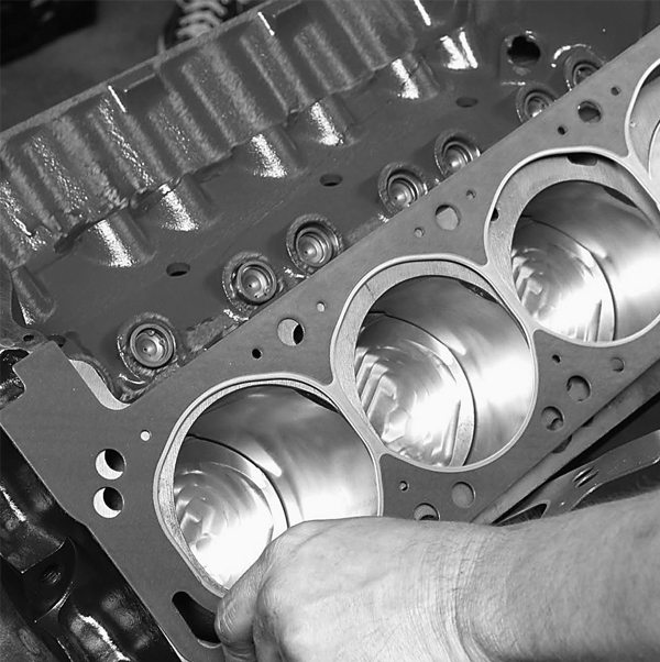 """Fel-Pro head gaskets keep the compression, combustion, and coolant contained. Note there is only one right way to install these head gaskets. Lay the end of the gasket labeled """"FRONT"""" toward the front of the block."""