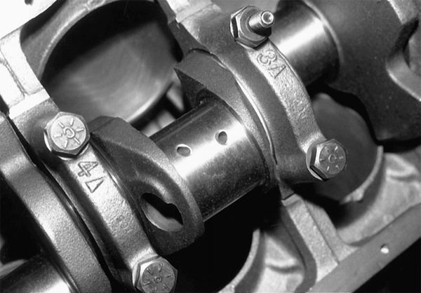 Any stroker kit worth its weight will have crankshaft journal oil holes that are chamfered for improved oil flow. If it doesn't arrive this way, have your machine shop do it.