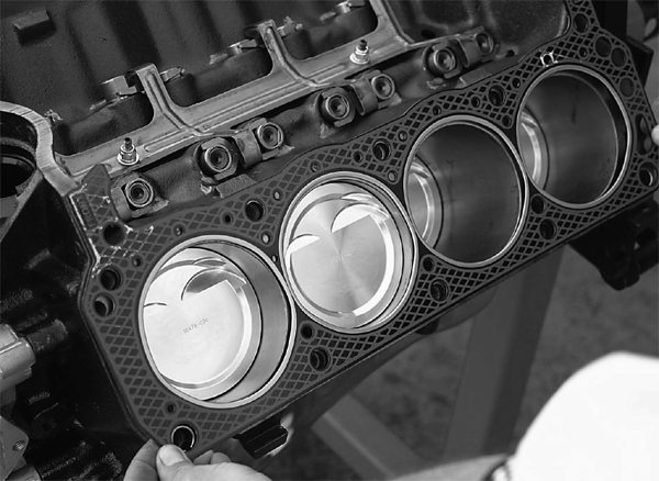 Trans Am Racing uses Ferrea cylinder head gaskets, which are the same head gaskets used by NASCAR racers.