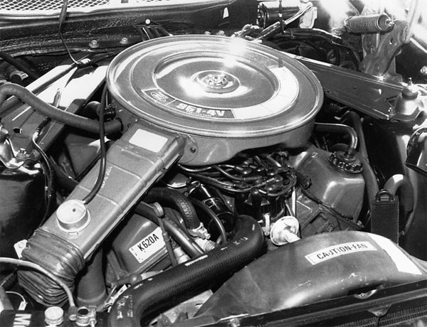 In 1970, Ford introduced a V-8 displacing 351ci with a 4-inch bore and 3.50-inch stroke called the 351 Cleveland or 351C. This engine has large-port heads with a dry intake manifold. In 1972, the 351C was stroked to achieve 400ci using a raised deck. Ford called this engine the 400M. The 400M had a 4.00-inch bore with a 4.00-inch stroke. In 1975, Ford destroked the 400M to 3.50-inches to get 351ci, known as the 351M. Both the 351M and 400M have a big-block bellhousing bolt pattern. Neither engine is a recommended build.