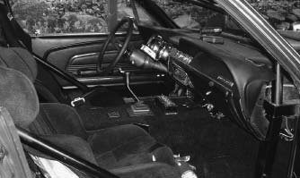 Even though the car has a full-tube chassis, Preston did a great job making the interior appear similar to a production car. The seats are Kirkey Road Race Deluxe items. The car has a stereo, as well as power locks and windows. (Photo courtesy Preston Peterson)
