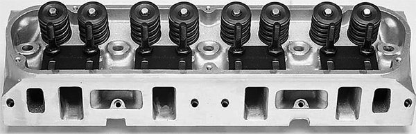 The Edelbrock Street Legal Performer is also available with larger 2.02-inch intake valves. This head is also designed for 351W strokers.