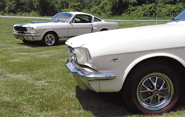 A continual criticism of the first two years' Shelby Mustangs was, visually, they were too similar to a plain-Jane Mustang.