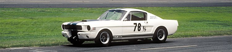 New Jersey's Dockery Ford in Morristown sponsored a pair of R-Models in 1966; one was Mark Donohue in 5R105 and this, the other, was Martin Krinner's 5R100. After prototypes 001 and 002, production R-models were serialed 094–108, 209–213, and 527–540.