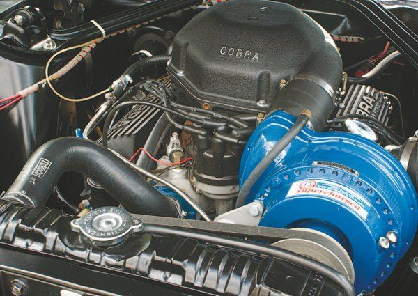 As in 1966, a Paxton supercharger was available as a nearly $700 factory option; 35 cars were so equipped as they left 6501 West Imperial Highway, and four others had the blower installed by the selling dealer. The lack of a Monte Carlo Bar in the engine compartment in the 1967s simplified the installation.