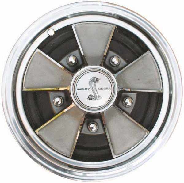 The 1968 wheel cover, unlike the 1967 item which was a Ford part, was manufactured by Garwood Industries and was generic and used on several makes of cars (Dodge and Oldsmobile among them).