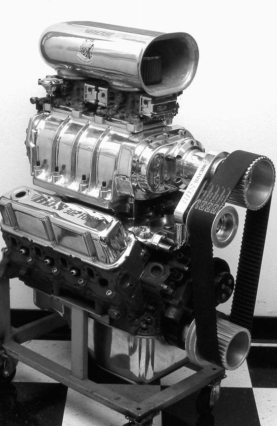 BDS also offers three street blower kits for the 289-302Wbased Ford small-block V-8 engine. They also manufacture kits for the Ford Boss 302, the Ford 351 Cleveland, and the Ford 400M small-blocks.