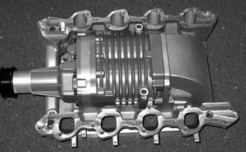 The heart and soul of the Allen Engine Development kits is the Gen III Eaton/Magnuson M90s supercharger. Boost levels run from 6 to 9 psi, depending on which kit you order.