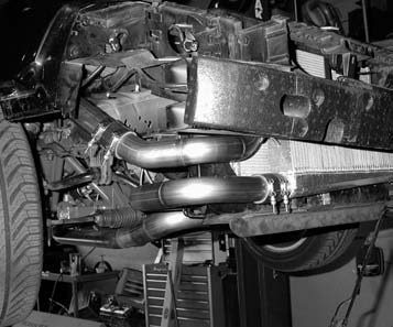 36. This is how the Hellion Power Systems intercooler ducting should look when fully installed.