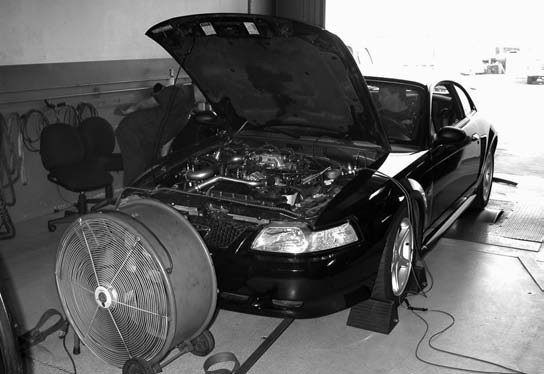 42. A second Diablo chip, which featured more aggressive timing and fuel systems modifications, is burned. This ultimately yielded a best of 430.2 hp (at 4,400 rpm) and 517 ft-lbs of torque at 4,250 rpm.