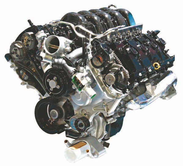 This inside look at the 5.0L Ti-VCT DOHC Coyote V-8 yields a close look at what makes this the most advanced Ford V-8 in history. Conceived as a Detroit-born highperformance V-8, the Coyote makes in excess of 400 hp out of the box. In addition, it is capable of 500 without extensive modifications.