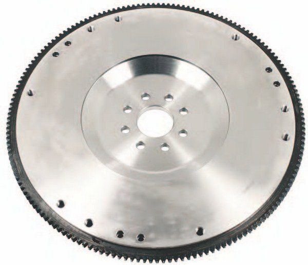 This is the Ford Performance Racing Parts M-6375-M50 164-tooth lightweight billet steel flywheel with .0-ounce balance for 2011–2016 5.0L Mustangs. It meets SFI 1.1 safety standards. If you're going racing, this is what you want for your Coyote project for safety and durability