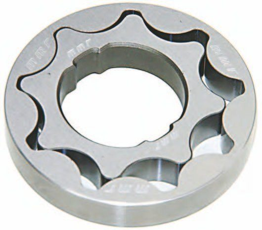 You may modify your existing Coyote oil pump with these billet steel pump inserts from Modular Motorsports Racing. You want to check pump clearances. Apart from that this is an easy modification to make.