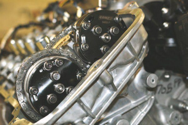 You can also lock in valve timing with these phaser locks from Comp Cams. (Photo Courtesy Comp Cams)