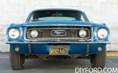How To Start A Mustang Restoration Project Step By 05
