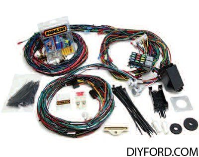 0726 mustang electrical tips grounds, connection, and shorts 1965 1973 73 mustang wiring harness at bayanpartner.co