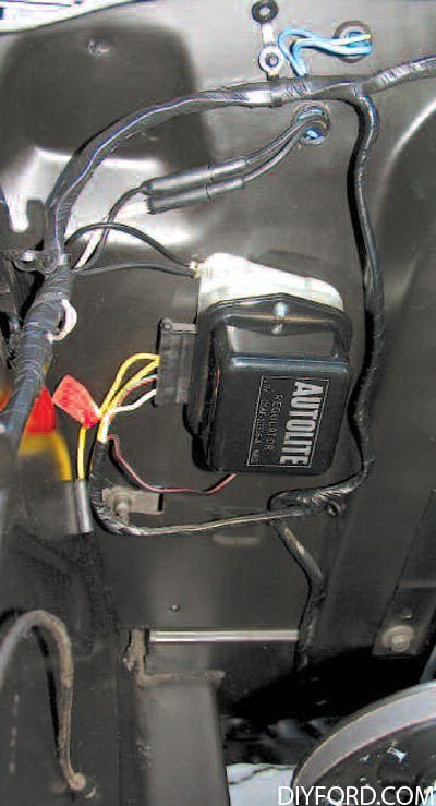 198 mustang electrical tips grounds, connection, and shorts 1965 1973  at webbmarketing.co