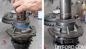 Ford 9 Inch Differential Guide: Third-Member Assembly 017(c)