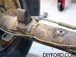 Ford Axle Removal: Complete Step by Step Instructions 07