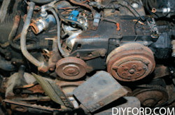 Rebuild Your Big-Block Ford - Remove Engine Step by Step 11