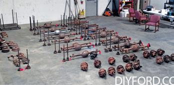 Ford Axle History and Identification: Ford Differentials