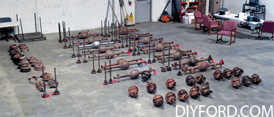 Ford Axle History and Identification: Ford Differentials 1