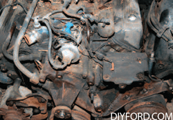 Rebuild Your Big-Block Ford - Remove Engine Step by Step 13