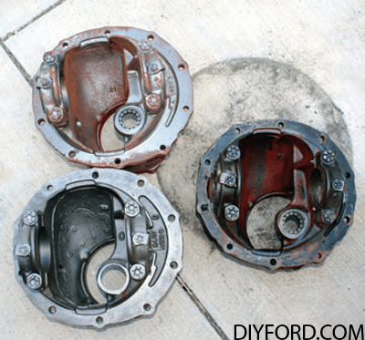 Ford Axle History and Identification: Ford Differentials 15