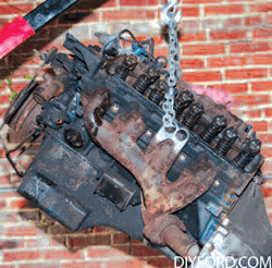Rebuild Your Big-Block Ford - Remove Engine Step by Step 19