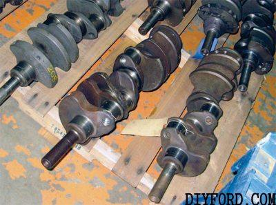 Ultimate Ford FE Engine Crankshaft Guide