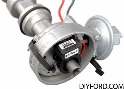 diy ford ford 351 cleveland engine breaker point ignition. Black Bedroom Furniture Sets. Home Design Ideas