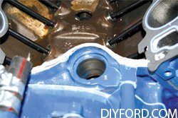 How to Install the Intake Manifold in Your Ford Big-Block Ford Engine Rebuild 6