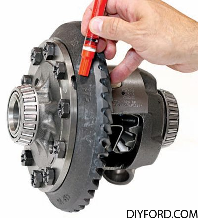Ford Axle Ring and Pinion Assembly How to Guide 7