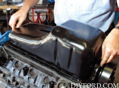 oiling system interchange for small block ford engines. Black Bedroom Furniture Sets. Home Design Ideas