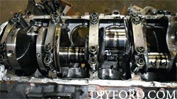 Ford Power Stroke 7.3L Engine Removal and Disassembly o13