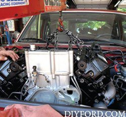 Ford Power Stroke 7.3L Engine Removal and Disassembly e1