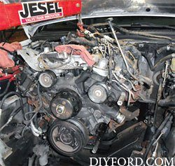 Ford Power Stroke 6.0L Engine Removal and Disassembly d1