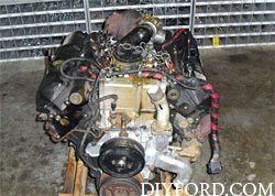 Ford Power Stroke 7.3L Engine Removal and Disassembly e2